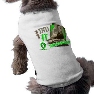 Rosie Sepia I Did It Non-Hodgkins Lymphoma Pet T-shirt