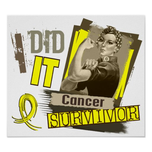 Rosie Sepia I Did It Sarcoma Posters