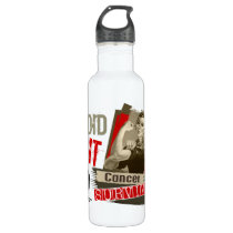 Rosie Sepia I Did It Skin Cancer Water Bottle