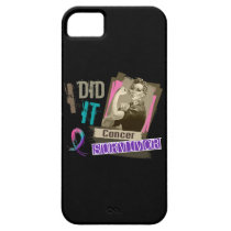 Rosie Sepia I Did It Thyroid Cancer iPhone SE/5/5s Case