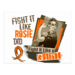 Rosie Sepia MS Postcards