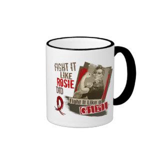 Rosie Sepia Multiple Myeloma Mug