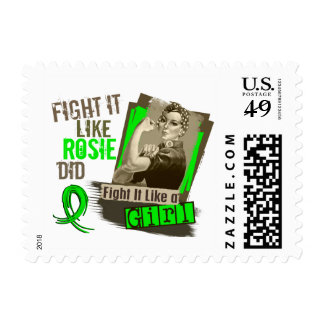 Rosie Sepia Muscular Dystrophy Postage Stamps