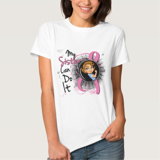 Rosie Sister Can Do It Breast Cancer Tshirts