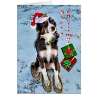 Rosie&Snowshoes-customize Greeting Card