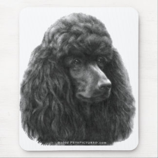 Rosie, Standard Poodle Mouse Pad