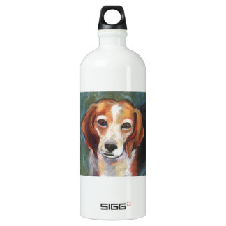 Rosie the Beagle Aluminum Water Bottle