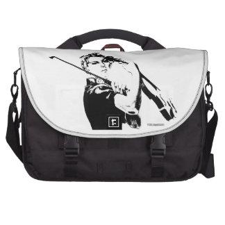 Rosie the Fiddler Laptop Messenger Bag