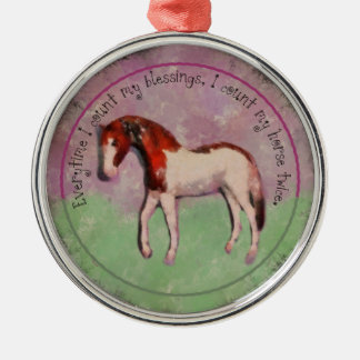 Rosie the Horse Christmas Tree Ornament