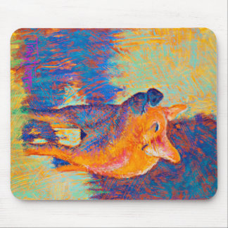 Rosie the Pig Mouse Pad