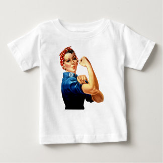 Rosie The Riveter Baby T-Shirt