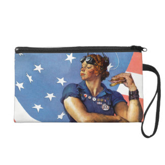"""Rosie the Riveter"" Wristlets"
