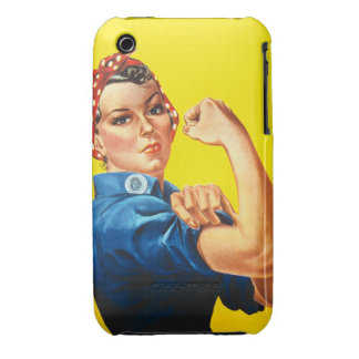 Rosie the Riveter Barely There™ iPhone 3 iPhone 3 Covers