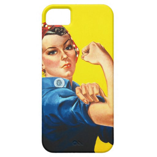 Rosie The Riveter Iphone Wallpaper By Barely There 5 Zazzle