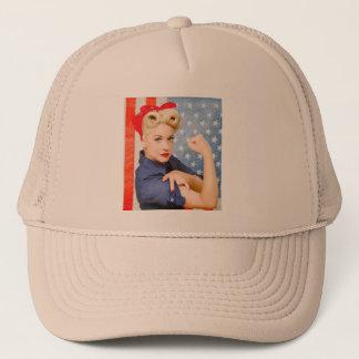 Rosie the Riveter baseball cap