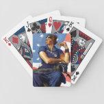 """Rosie the Riveter"" Bicycle Poker Deck"