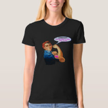 Rosie the Riveter Breast Cancer Charity T Shirt