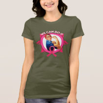 Rosie the Riveter Breast Cancer T-Shirt