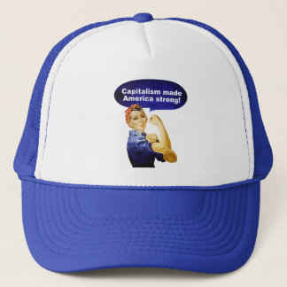 Rosie the Riveter-Capitalism cap