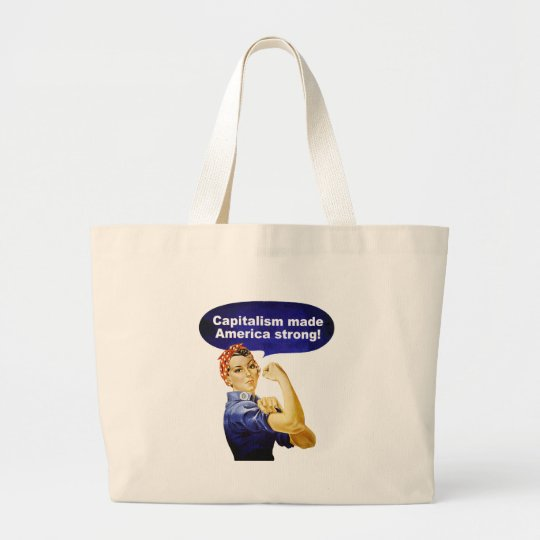 Rosie the Riveter-Capitalism tote