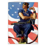 Rosie the Riveter Card