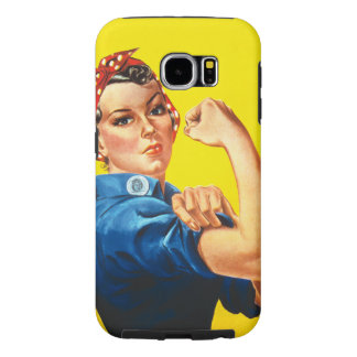 Rosie the Riveter Samsung Galaxy S6 Cases