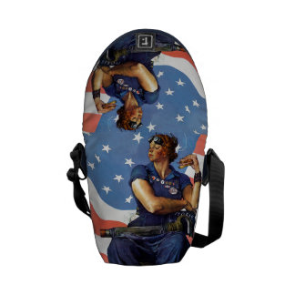 Rosie the Riveter Courier Bag