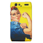 Rosie the Riveter Droid RAZR Covers