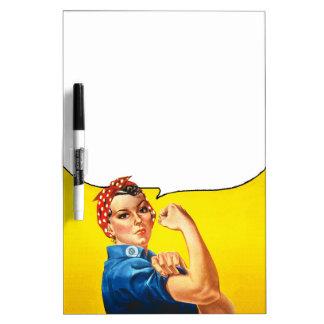 Rosie the Riveter Dry-Erase Board