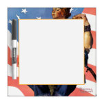 Rosie the Riveter Dry Erase Board