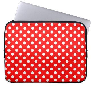 Rosie The Riveter Fashion Style Retro Polka Dots Laptop Sleeves
