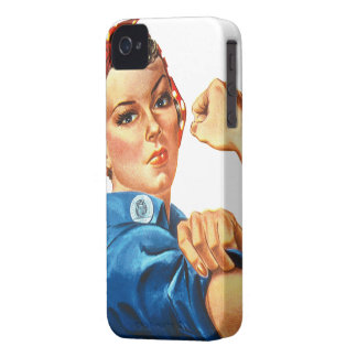 Rosie the Riveter Feminism iPhone 4 Case
