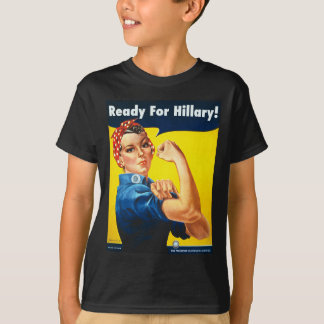 Rosie the Riveter for Hillary T-Shirt
