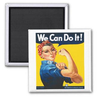 Rosie the Riveter Fridge Magnet