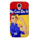 Rosie the Riveter graphic design Galaxy S4 Cover