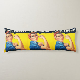 Rosie The Riveter: Gun Show! Body Pillow
