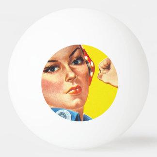 Rosie The Riveter: Gun Show! Ping Pong Ball