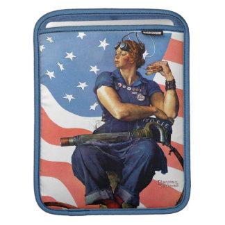 """""""Rosie the Riveter"""" iPad Sleeves"""