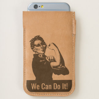 Rosie the Riveter iPhone 6/6S Case