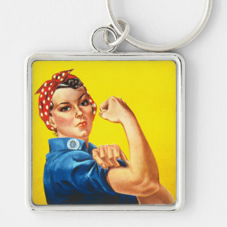 Rosie the Riveter Keychain