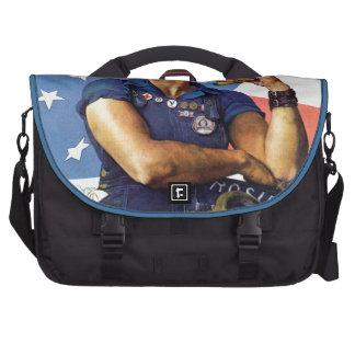 Rosie the Riveter Laptop Commuter Bag