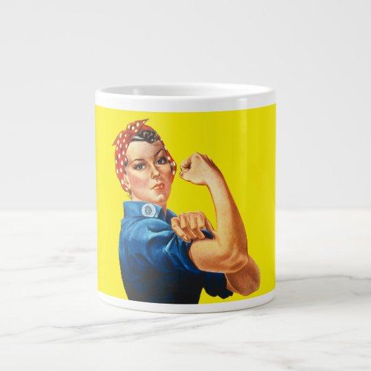 Rosie the Riveter Large Coffee Mug