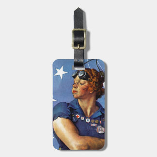 """Rosie the Riveter"" Travel Bag Tags"