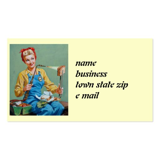 52 Rosie The Riveter Business Cards and Rosie The Riveter