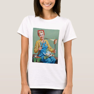 Rosie the Riveter Makes Toasted Cheese T-Shirt