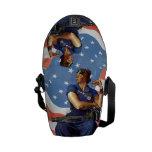 Rosie the Riveter Messenger Bags