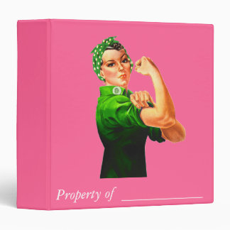 Rosie The Riveter - Military Support Binders