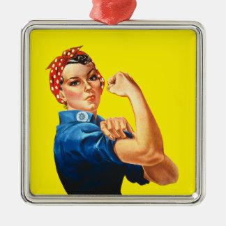 Rosie the Riveter Ornament