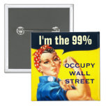 Rosie the Riveter OWS button