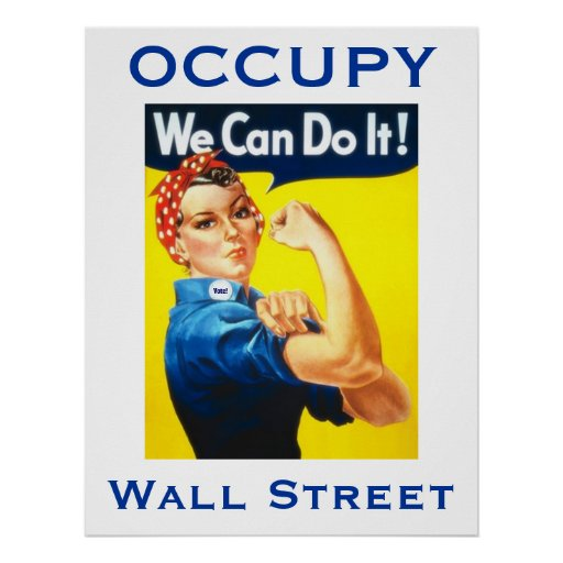 Rosie the Riveter OWS poster
